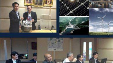 Photo of คุณสุวัฒน์ กมลพนัส ประธานกลุ่มอุตสาหกรรม พลังงานหมุนเวียน สภาอุตสาหกรรมแห่งประเทศไทย พร้อมด้วยคณะกรรมการกลุ่มฯ พบ รอง.ผอ.สนพ. (คุณวัฒนพงศ์ คุโรวาท)