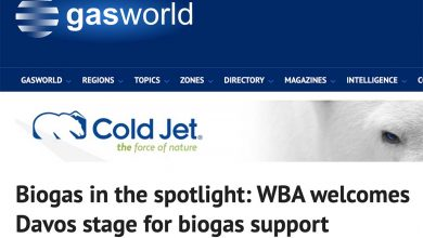 Photo of Biogas in the spotlight: WBA welcomes Davos stage for biogas support