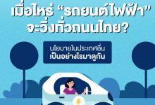 """Photo of นโยบาย""""รถยนต์ไฟฟ้า"""" ของไทยเปรียบเทียบกับต่างประเทศ"""